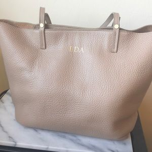 Gigi New York Tori Tote in Stone